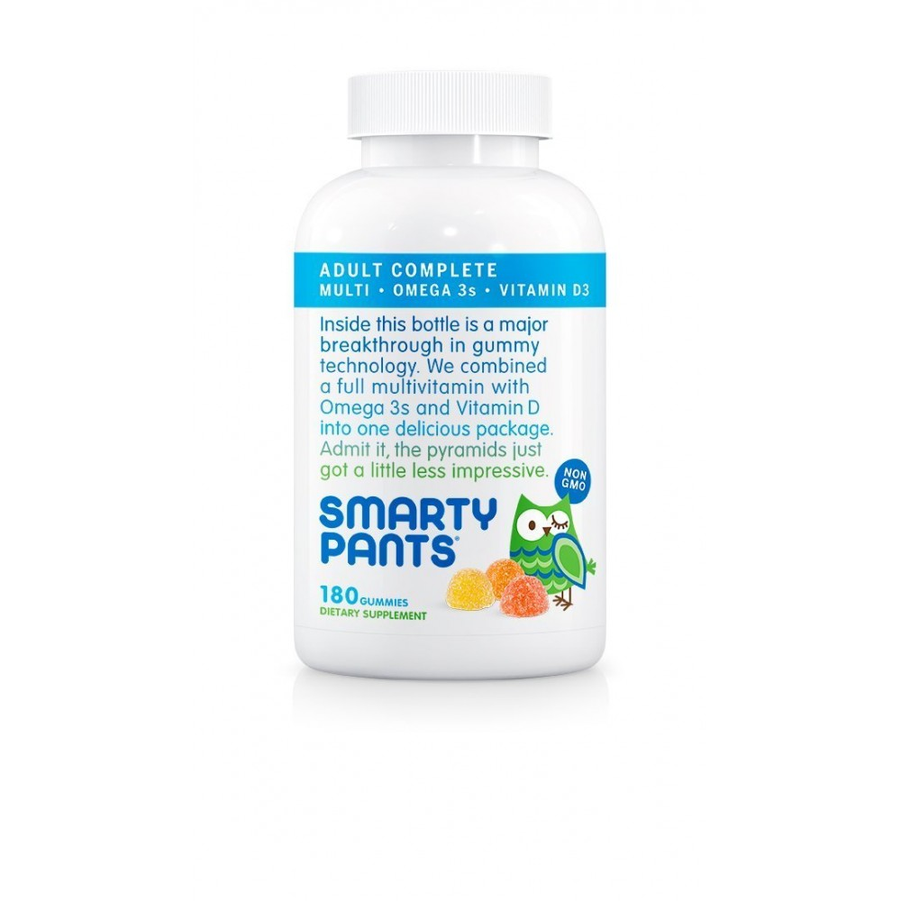 Buy smartypants adult complete gummy vitamins for Multivitamin with fish oil