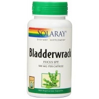 Solaray Bladderwrack, 580 mg, 100 Count (Natural Iodine)