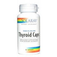 Solaray Thyroid Caps -- 60 Capsules