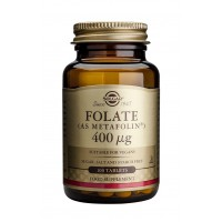 Solgar Folate (as Metafolin), 100 Tabs 400 mcg