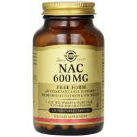Solgar, NAC, 600 mg, 120 Vegetable Capsules