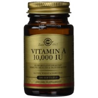 Solgar Vitamin A 10,000 IU Softgels, 100 Count