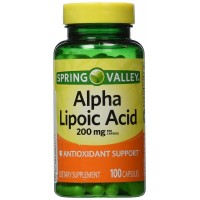 Spring Valley - Alpha Lipoic Acid 200 mg, 100 Capsules