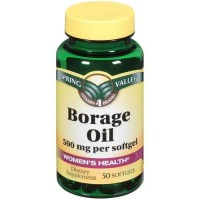 Spring Valley - Borage Oil 500 mg, 50 Softgels