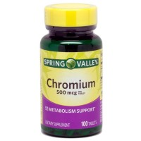 Spring Valley - Chromium 500 mcg, 100 Tablets