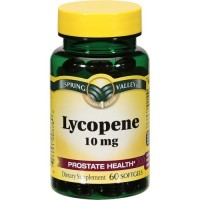 Spring Valley - Lycopene 10 mg, 60 Softgels