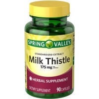 Spring Valley - Milk Thistle 175 mg, 90 Capsules