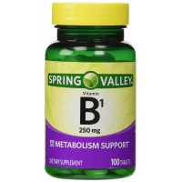 Spring Valley Natural Metabolism Support B1, 100 tablets