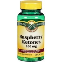 Spring Valley Raspberry Ketones Dietary Supplement, 100mg, 60 count