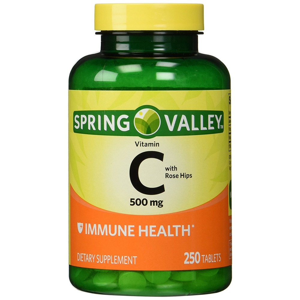 Buy Spring Valley Vitamin C With Rose Hips 500 Mg Twin