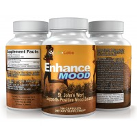 St. John's Wort 500mg - LFI Enhance Mood - Premium Extract Supplement For Mood Support - Promotes Mental Health & Eases Symptoms of Anxiety & Depression - 100 Capsules