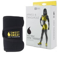 Sweet Sweat Premium Arm Trimmers for Men & Women. Includes Free Sample of Sweet Sweat Workout Enhancer!
