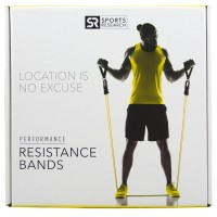 Sweet Sweat Premium Resistance Bands Set - Includes Carrying bag, Workout guide and Sweet Sweat Gel Sample!