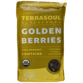 Terrasoul Superfoods Dried Golden Berries (Organic), 12 Ounce