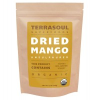 Terrasoul Superfoods Organic Mango Slices, 12oz