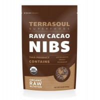 Terrasoul Superfoods Raw Organic Criollo Cacao Nibs, 16-ounce