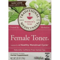Traditional Medicinals - Female Toner Herb Teas, 16 bags