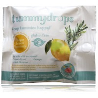 Tummydrops Convenience Bags (Four Packages with 7 Drops Each) (Thinker's Series: Meyer Lemon Rosemary for Alertness)