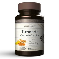 Turmeric Curcumin Complete - 1500mg - Min 95% Curcuminoids | Extra Strength Turmeric Supplement Provides the Anti-inflammatory Response You Need | Helps Eliminate Pain due to Inflammation | Non-GMO