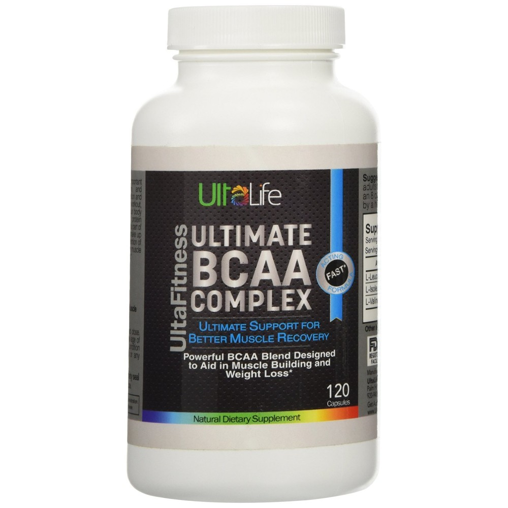 Buy Ultimate Bcaa Complex Is A Powerful Blend Of 3 The Most Nutrition 500mg 120 Caps Important Amino Acids