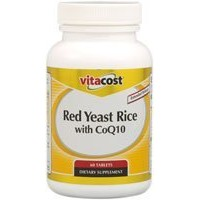 Vitacost Red Yeast Rice 1200 mg with CoQ10 - Extended Release 60 Tablets