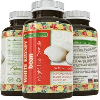 White Kidney Bean Extract - #1 Premium Formula for Weight Loss & Appetite Suppression - Highest Grade, Best Premium Quality – Carb Blocker - Guaranteed By California Products