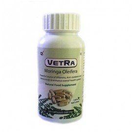 Vetra Moringa Oleifera Capsules - (500 mg) 120 Capsules