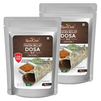 The Spice Club Finger Millet Dosa Mix 1 kg (Pack of 2) - (Low GI Food, No Preservative,100% Natural)