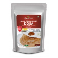 The Spice Club Multi Grain Millet Dosa Mix 1 kg (Low GI Food, No Preservative,100% Natural)
