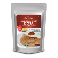 The Spice Club Multi Grain Millet dosa Mix 500g (Low GI Food, No Preservative,100% Natural)