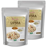 The Spice Club Rava Upma Mix - 1 kg (Pack of 2) - (Easy To Cook, 100% Natural, Traditional Breakfast Dish)