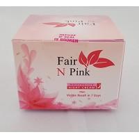 Fair N Pink Skin Whitening Cream Visible Result In 7 Days