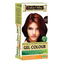 Indus Valley Natural Burgundy Gel Hair Colour