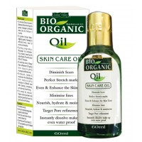 Indus Valley Bio Organic Oil 60ml - Skin Care, Stretch Marks, Anti-Ageing