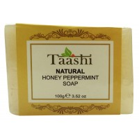 Taashi NATURAL HONEY PEPPERMINT SOAP 100 gm