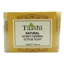 Taashi Natural Honey Herbal Scrub Soap 100 gm