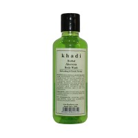 Khadi Herbal Aloevera Body Wash - 210ml