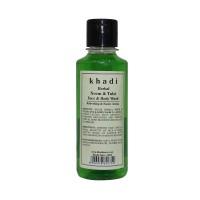Khadi Herbal Neem & Tulsi Face And Body Wash - 210ml