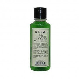 Khadi Herbal Neem & Tulsi Face And Body Wash - 210ml