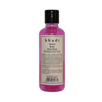 Khadi Herbal Rose Body Wash - 210ml