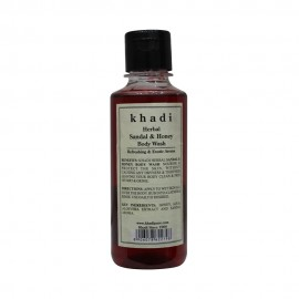 Khadi Herbal Sandal & Honey Body Wash - 210ml