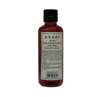 Khadi Herbal Woody Sandal & Honey Body Wash - 210ml