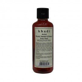 Khadi Herbal Woody Sandal & Honey Body Wash - 210ml