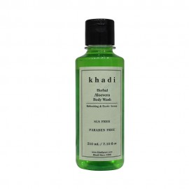 Khadi Herbal Aloevera Body Wash SLS-Paraben Free - 210ml