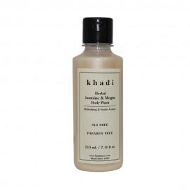 Khadi Herbal Jasmine & Mogra Body Wash SLS-Paraben Free - 210ml