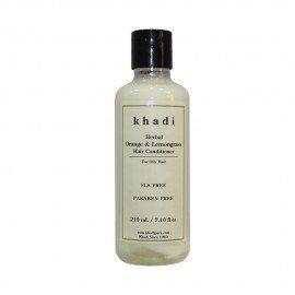 Khadi Herbal Orange & Lemongrass Hair Conditioner SLS-Paraben Free - 210ml