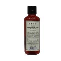 Khadi Herbal Sandalwood & Honey Face Wash - 210ml