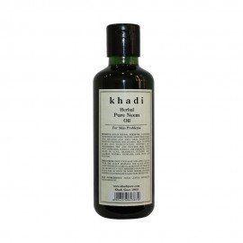 Khadi Herbal Pure Neem Oil - 210ml