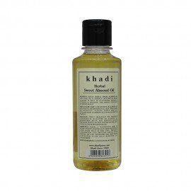Khadi Herbal Sweet Almond Oil - 210ml