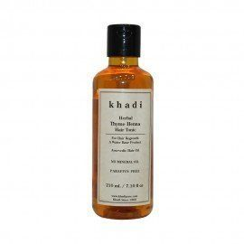 Khadi Herbal Thyme Henna Hair Tonic - 210ml